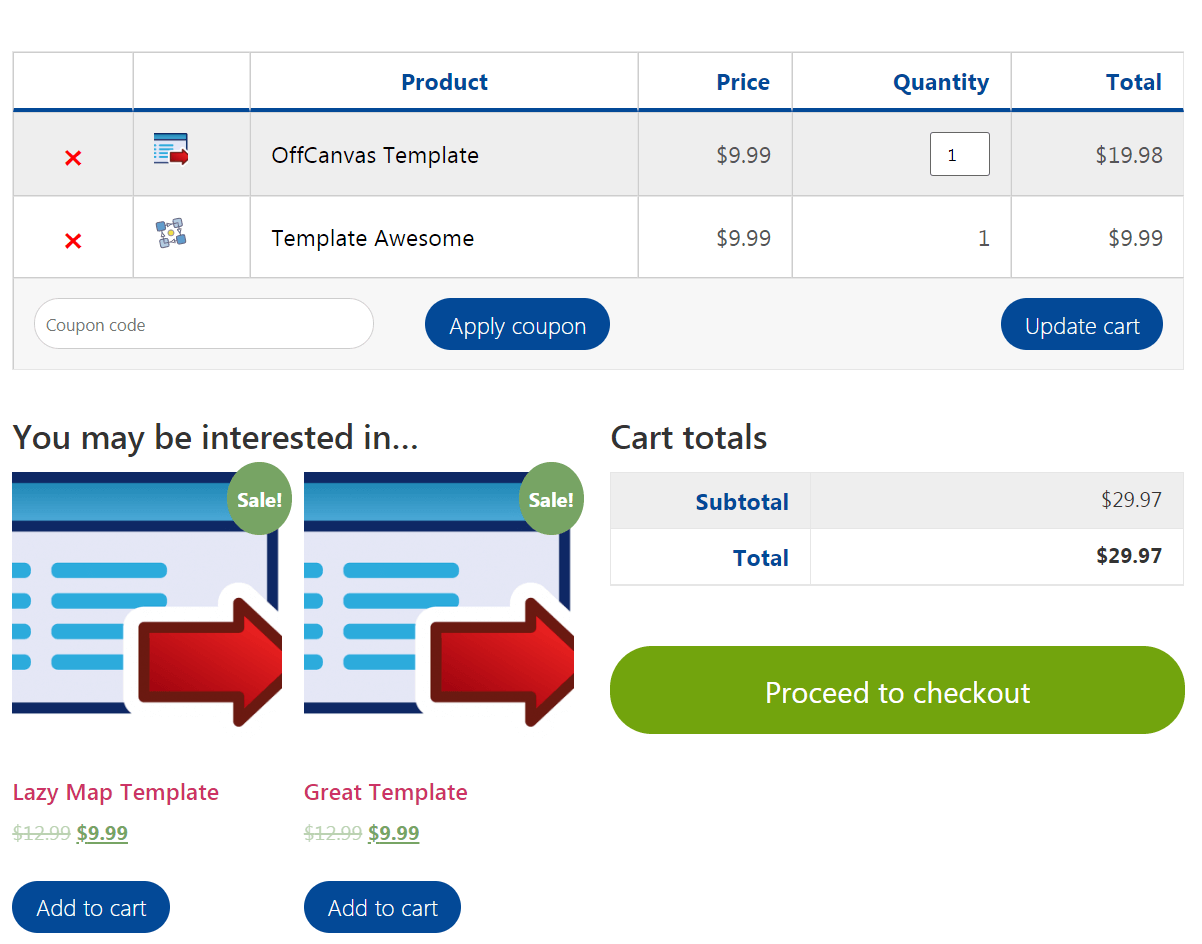 Elementor Cart & Checkout Pages for WooCommerce: Easy CSS modifications