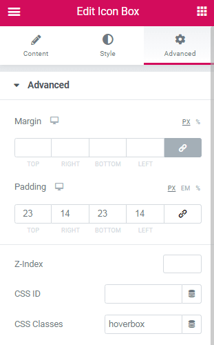Elementor Hover Icon Box Changes Whole Styling! 1