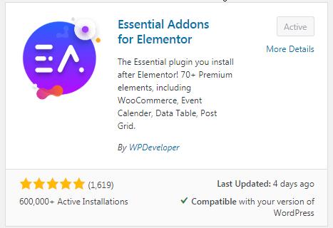 Elementor Vertical & Horizontal Tabs Using Templates 1