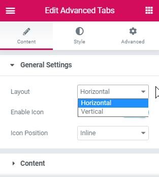 Elementor Vertical & Horizontal Tabs Using Templates 3