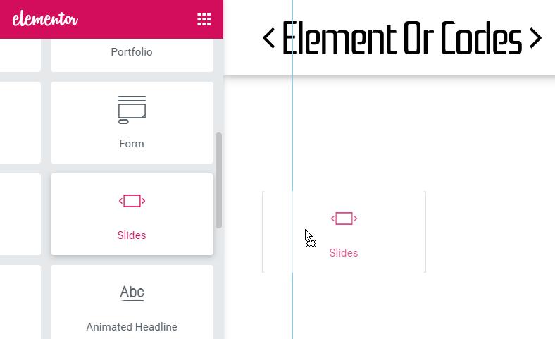 Elementor Slider Random Slides Order Easily!